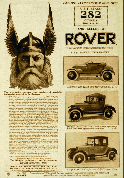 Rover 8 Advert